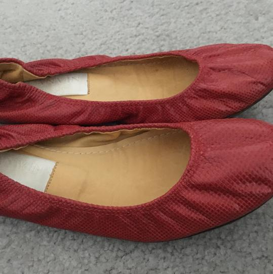 Lanvin Red Flats Image 2