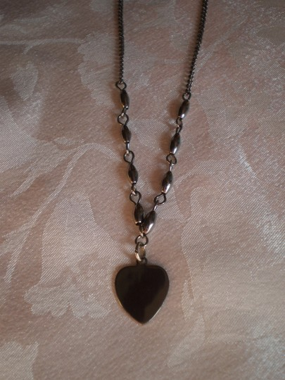 Unknown Silver heart necklace