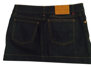 Gucci Mini Skirt dark blue