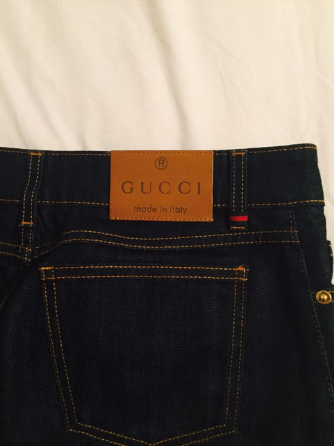 Gucci Mini Skirt dark blue Image 1