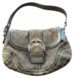 Coach One Front Flap Shoulder Bag