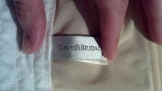 David's Bridal White Felina Essentials Seamless Hidden Wire Bra Style 7643