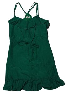 Sugarlips short dress Green on Tradesy