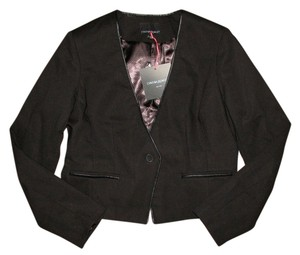 Cynthia Rowley Cropped Black Blazer