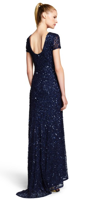 Adrianna Papell Beaded Gown Dress Image 1