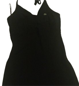 Lacoste short dress Black Halter on Tradesy