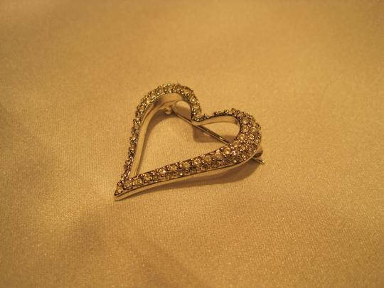 Other Open Heart Pin - [ Roxanne Anjou Closet ]
