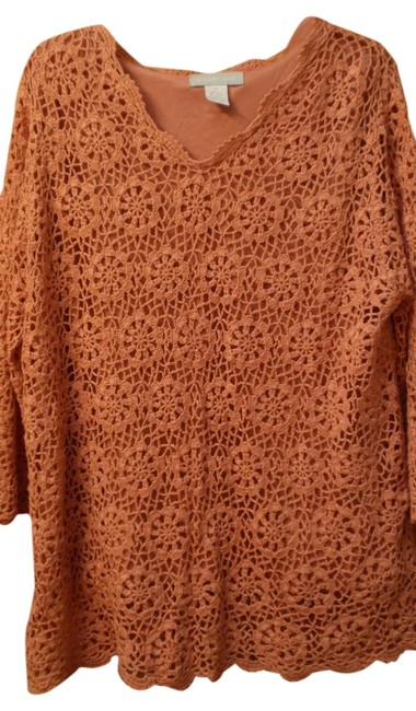 Item - Terra Cotta (Rust) Sweater