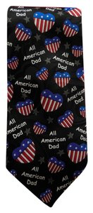 Ralph Marlin Ralph Marlin Men's All American Neck Tie