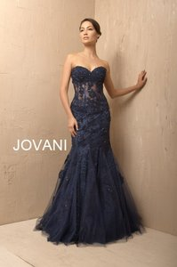 Jovani Navy Jovani 6731a Navy Dress