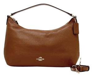 Coach Celeste Pebbled Hobo Cross Body Bag