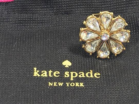 Kate Spade KATE SPADE Clear As Crystal Daisy Ring NWT SOLD OUT Classic Size 7 Dust Bag too Image 2