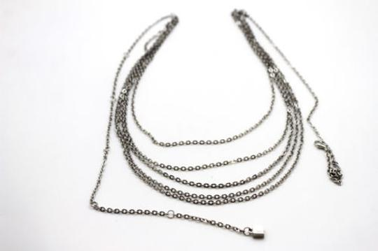 Alwaystyle4you Women Silver Belt Metal Chains Hip High Waist Strands Waves Side Image 11