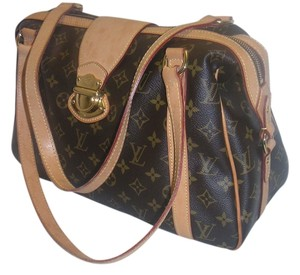 Louis Vuitton Tan Coated Shoulder Bag