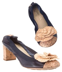 Chanel Navy Pumps