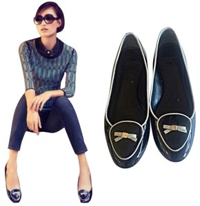 Tory Burch Navy Flats