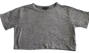 Forever 21 T Shirt Heather grey