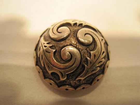 Other Silver Plated Button Covers - [ Roxanne Anjou Closet ]