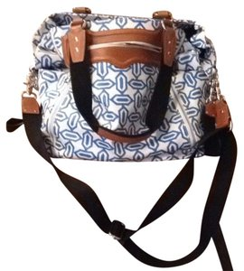 Rebecca Minkoff Blue And White Diaper Bag