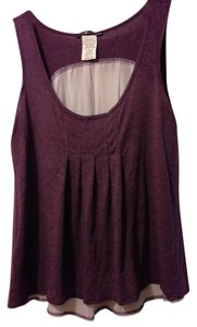 Love Squared Top Eggplant/Purple