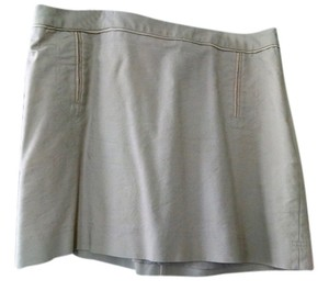 The Limited Mini Skirt Khaki Tan