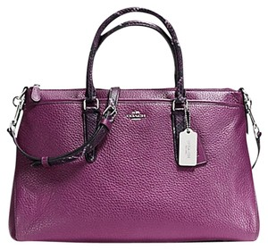 Coach Hobo Satchel Exotic Morgan Cross Body Bag