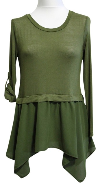 Item - Olive New Without Tags Large Blouse Size 12 (L)