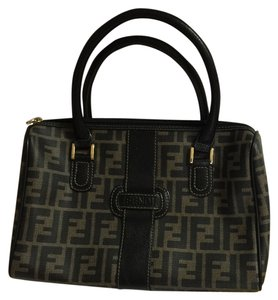 Fendi Satchel in Black Brown