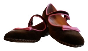 Marc Jacobs Brown and pink Flats