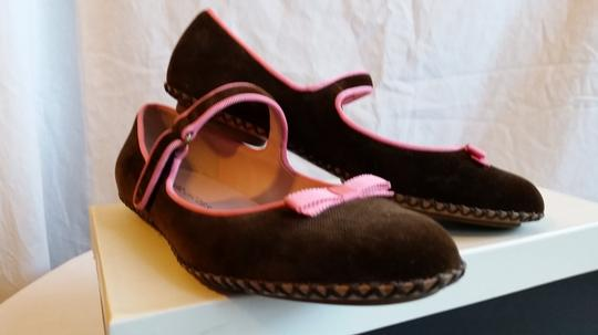 Marc Jacobs Brown and pink Flats Image 1
