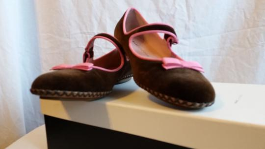 Marc Jacobs Brown and pink Flats Image 4