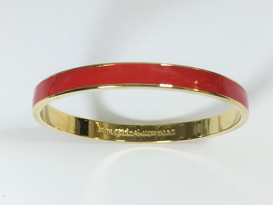Kate Spade Kate Spade Classic Red Bangle NWT Color Pop When Stacking! Dust Bag Included Image 2