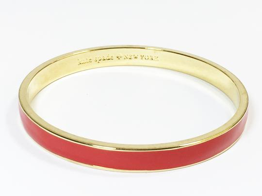 Kate Spade Kate Spade Classic Red Bangle NWT Color Pop When Stacking! Dust Bag Included Image 3
