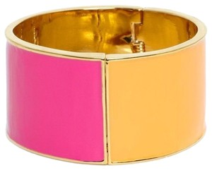 Kate Spade Kate Spade Au Contraire Bracelet NWT Wonderful Pink & Orange Split MOdern Chic!