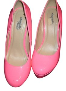Charlotte Russe Patent Leather PINK Pumps