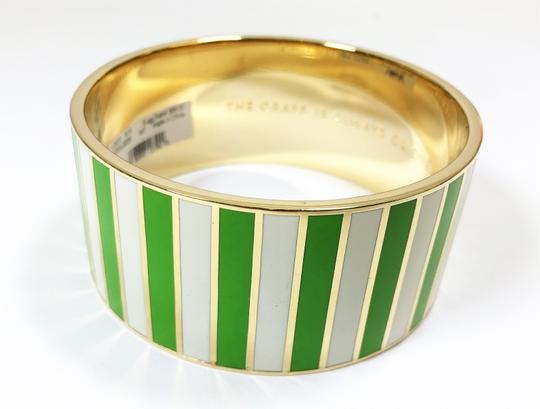Kate Spade Kate Spade Grass Is Always Greener Bracelet NWT Idiom Collection Chic w Dust Bag Image 3