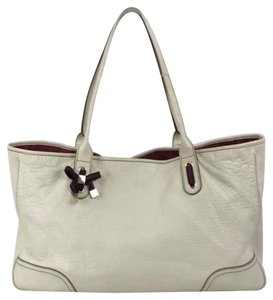 Gucci Princy Bow Tote in White