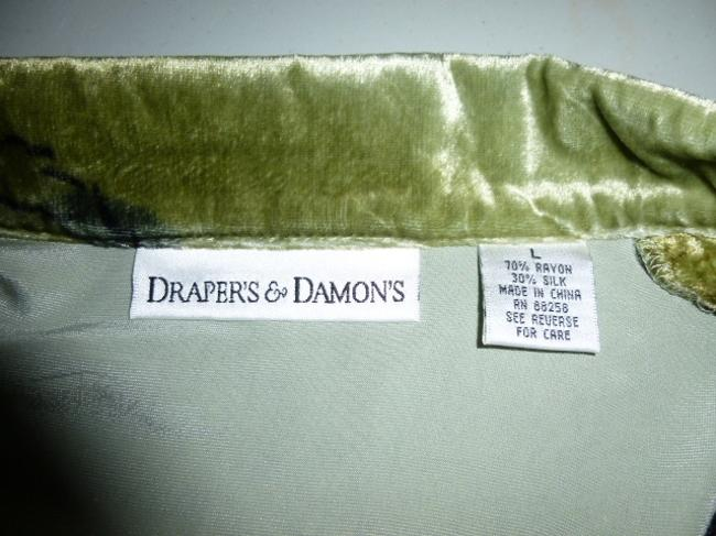 Drapers and Damons Top Multicolored