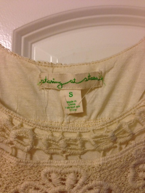 Other Bohemian Lace Top Ivory