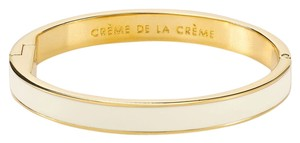 Kate Spade Kate Spade Creme de la Creme Hinged Bracelet NWT French for the Best of the Best