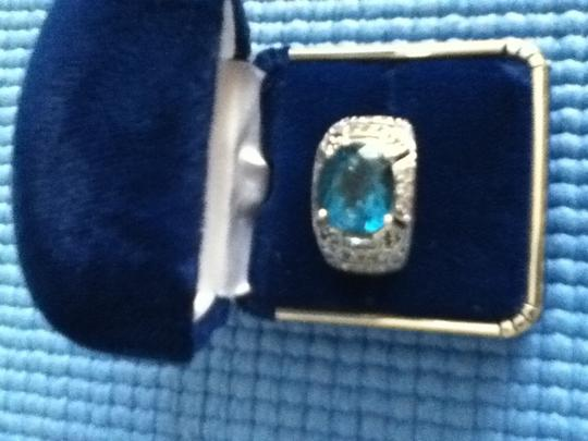 Other Blue topaz silver ring