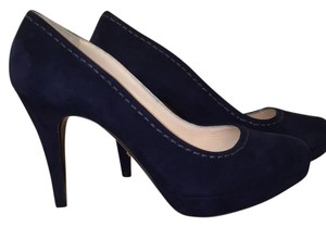 Prada Midnight Blue Pumps