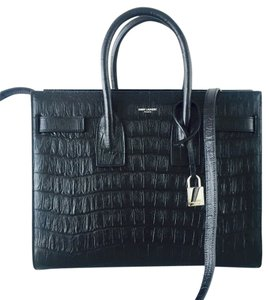 Saint Laurent Crocodile Shoulder Bag