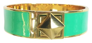 Kate Spade Kate Spade Locked In Green Hinged Bracelet NWT Great Stacking Pop of Color!