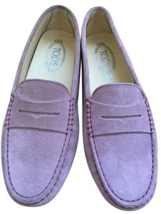 Tod's Gommini Mocassino Designer Loafers Loafers PALE PINK Flats