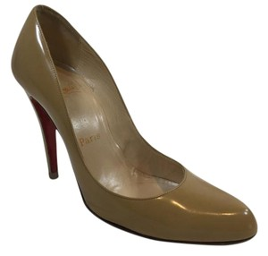 Christian Louboutin Louboutin Decollete Nude Beige Tan Pumps
