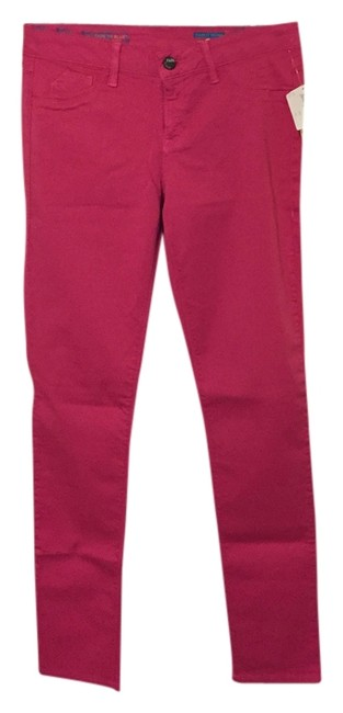 Preload https://img-static.tradesy.com/item/14364298/fade-to-blue-hot-pink-skinny-jeans-size-29-6-m-0-1-650-650.jpg