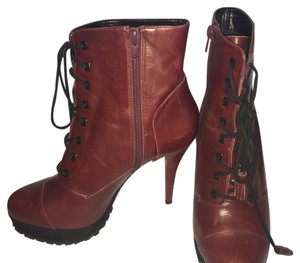 Carvela Kurt Geiger deep red Boots