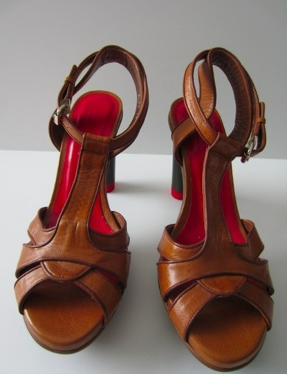 Tommy Hilfiger Collection Brown Sandals