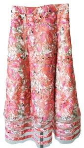 Anthropologie Chiffon Skirt Polyester Dress